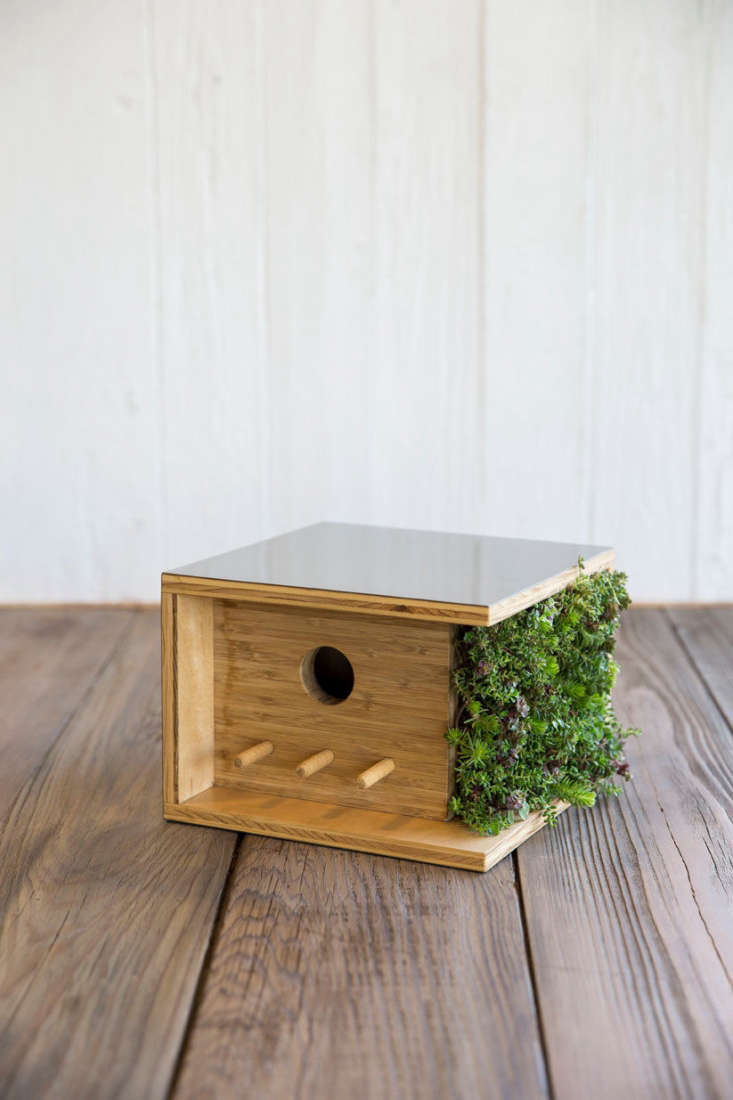 our latest object of desire? the bauhaus birdhouse, complete with tiny vertical 11
