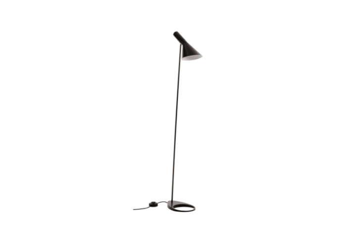 The Arne Jacobsen Black AJ Floor Lamp is $loading=