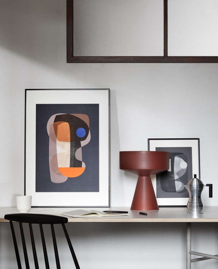 The Poster Club of Copenhagen commissions artists, photographers, and designers to create its extensive collection of Scandinavian-inflected posters and prints. Abstract Cubism (left) and Abstract Construction (right) by Atelier CPH each come in two sizes: 30 by 40 centimeters, €49 ($5