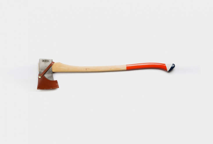 The Best Made Co. American Felling Axe in red Paler Male is $350 at Best Made Co.
