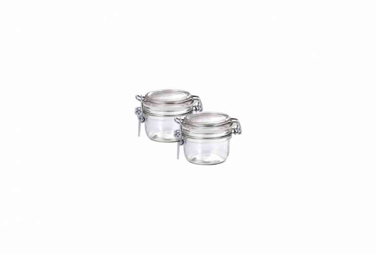 for storing pantry provisions, the bormioli rocco fido round storage jars are \ 20
