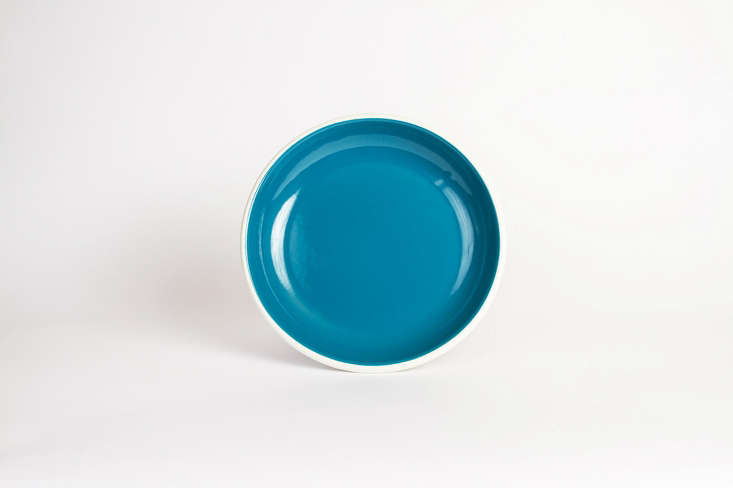 TheBornn Bloom Dinner Plate is available in six colors via Tableshop; $.99.