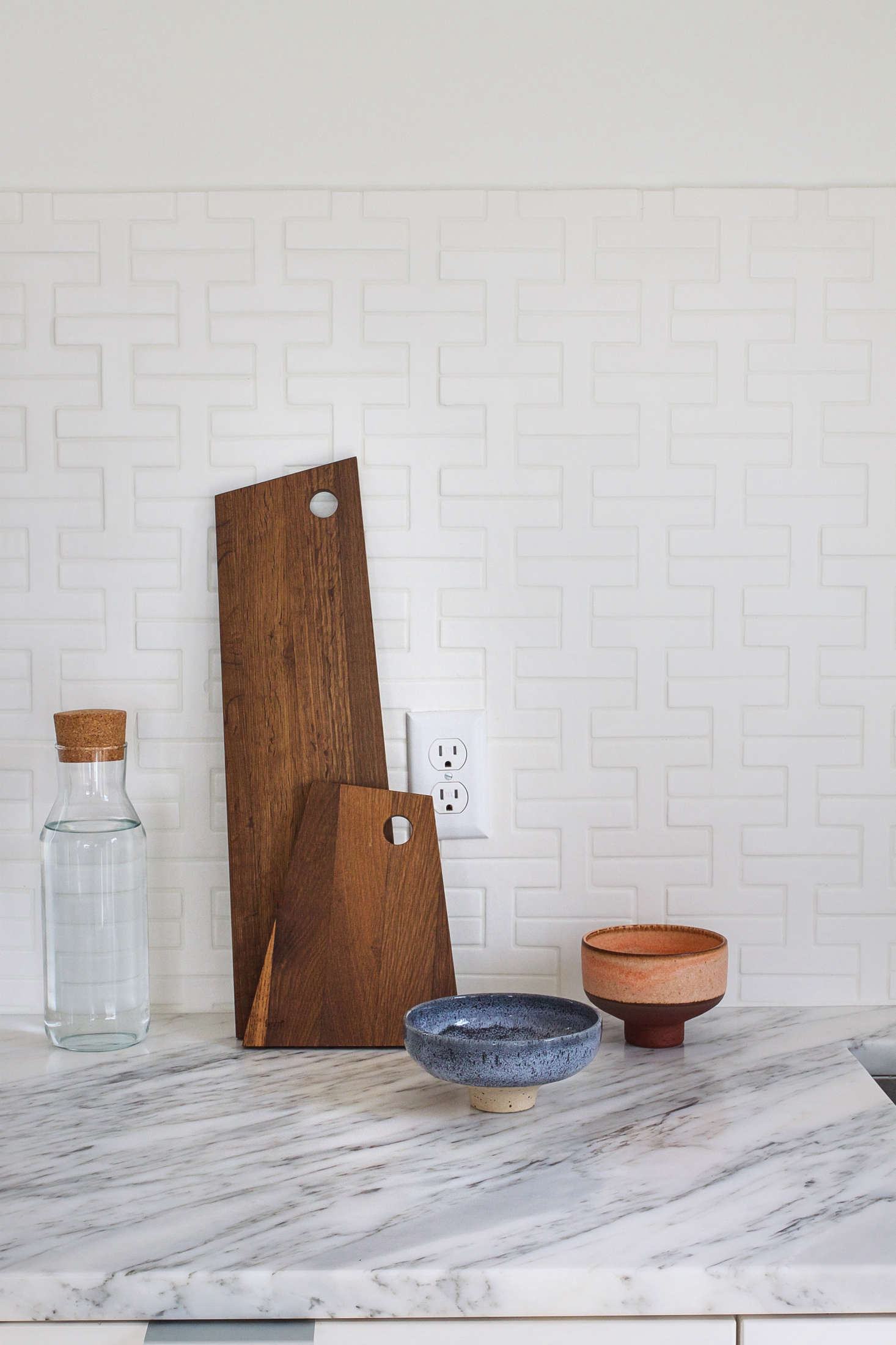 Discovered via Remodelista, ceramic bowls by Studio Arhojare paired with Ferm Living&#8
