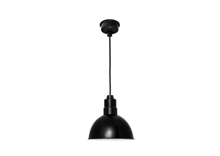 Another modern take on a traditional barn light, Blackspot starts at $9; the model shown here, the 8-Inch Blackspot LED Pendant Light in Black, is $9.