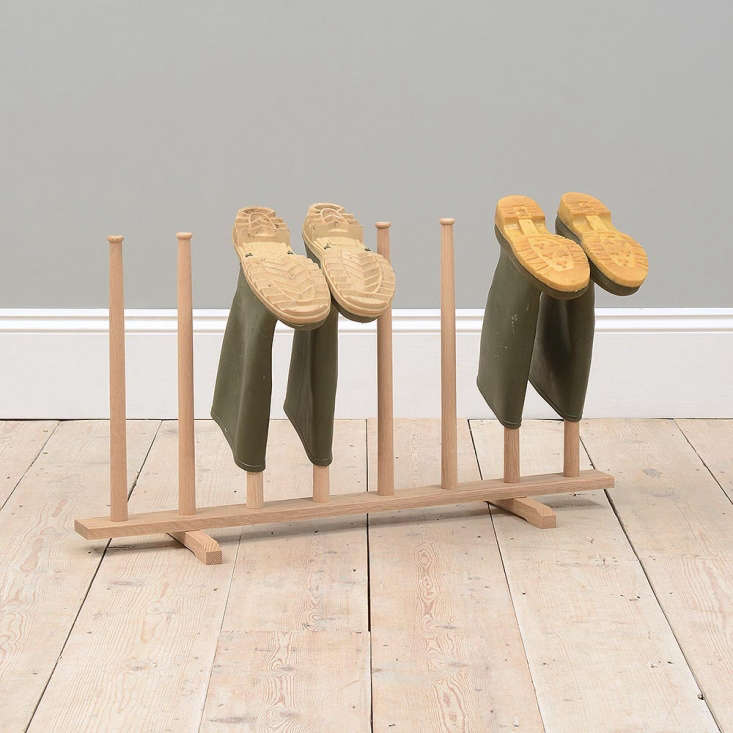And, where to store your Wellies after a day of muddy gardening? Look no further than  Easy Pieces: Boot Racks for Wellies.
