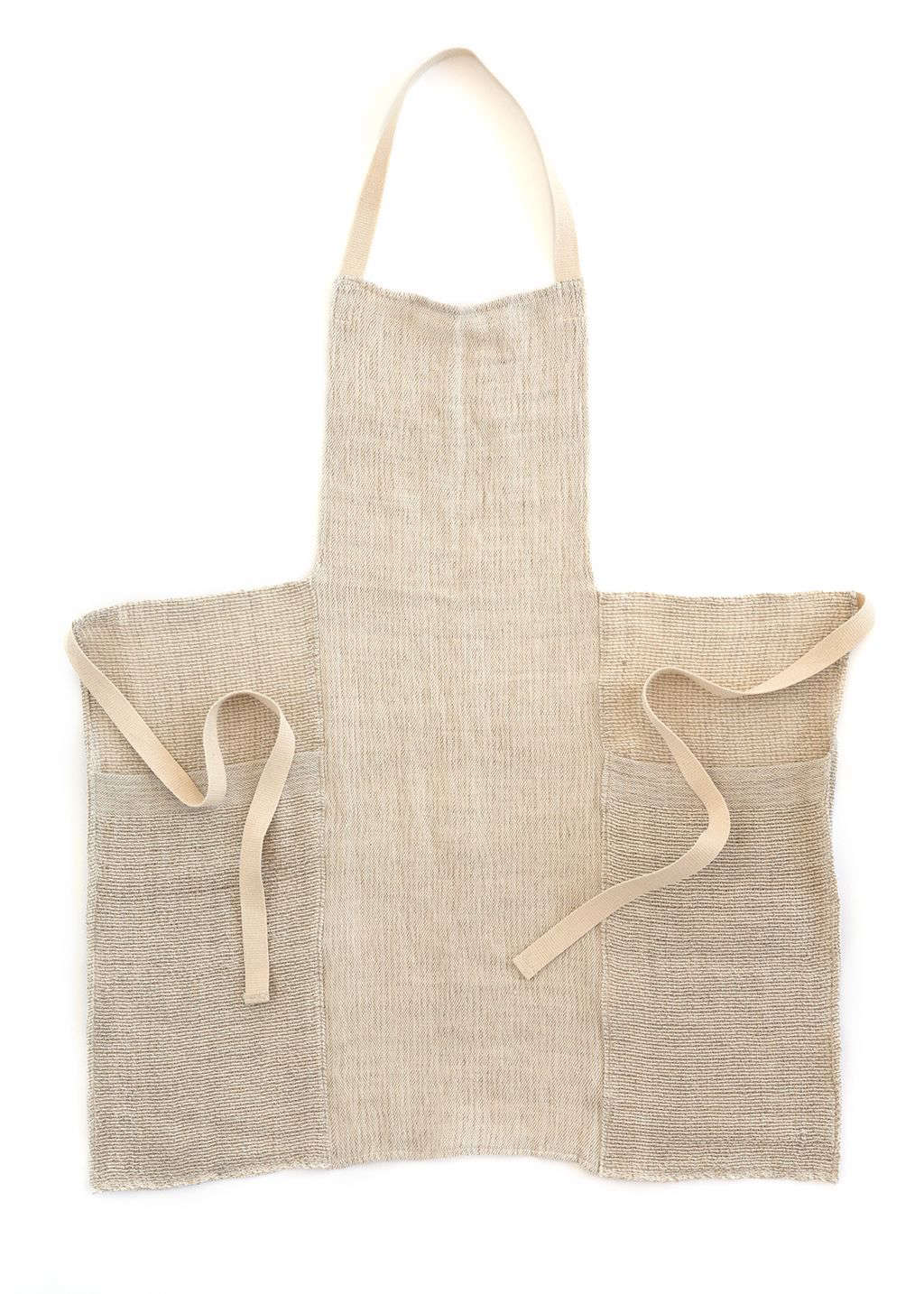 The third color in this style is a Natural Stripes Apron; $8.