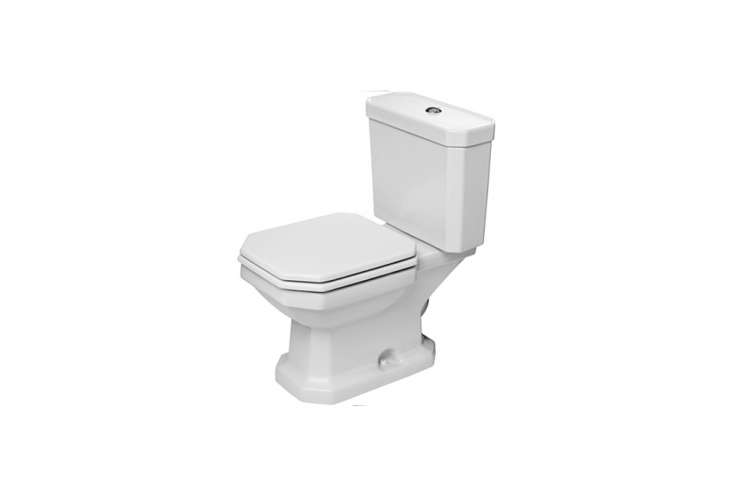 the duravit \1930 series two piece toilet set is \$799 at quality bath. 14
