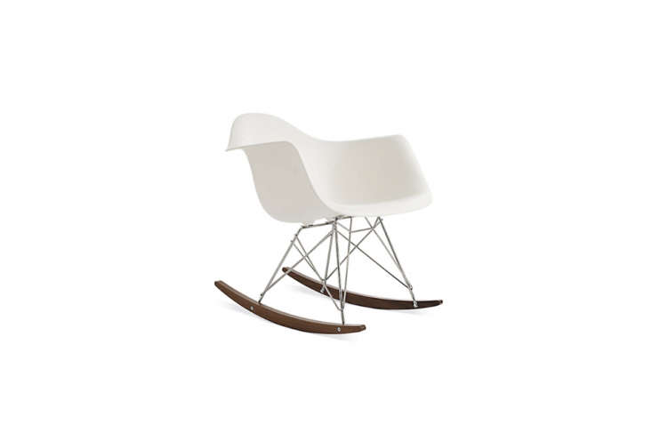 The classic Eames Molded Plastic Rocker in white is $5 at Design Within Reach.