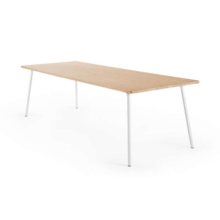 the hoop m table comes in three sizes and is made for work or home. (&#8\2\ 13