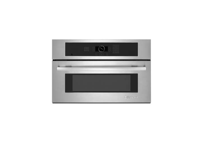 10 Easy Pieces Builtin Microwaves KitchenAid Architect Series II Microwave Oven is \$\1,079.\10 in stainless and \$984 in black or white at Home Depot.
