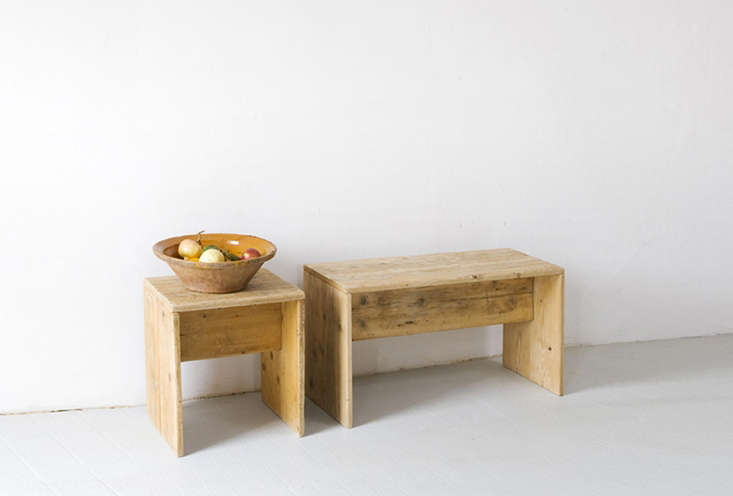 thekatrin arens sgabello e panca tiquadro is available as a stool or a bench; 12