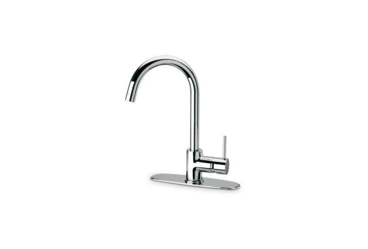 The LaToscana Single Handle Pull-Down Faucet is made in Pogno, a town in northern Milan, at the LaToscana factory; $loading=