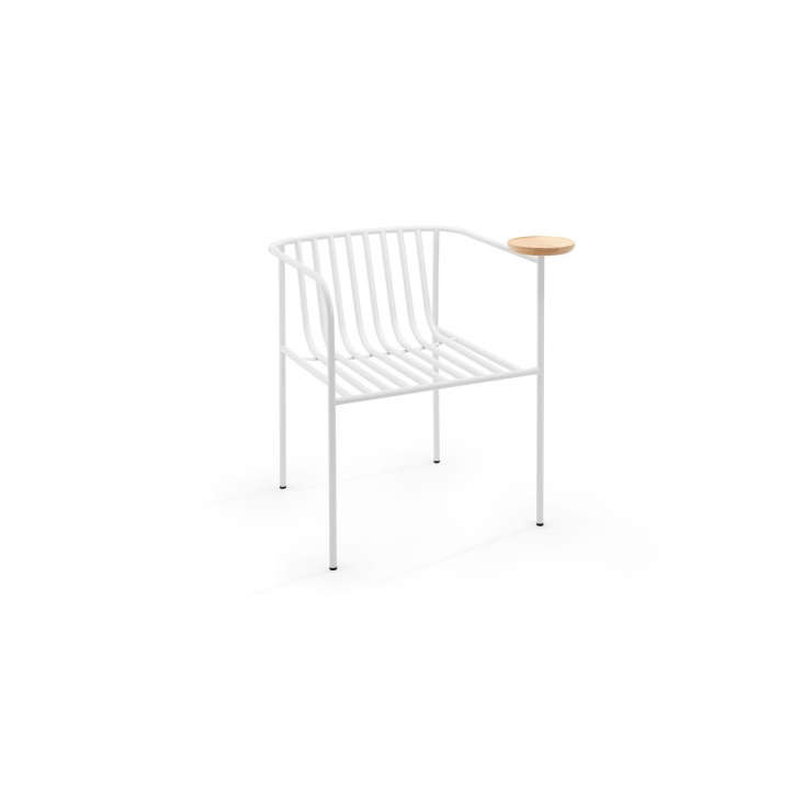 an indoor/outdoor furniture line includes the whitsunday single chair; \$630. a 11