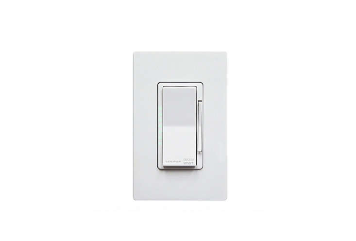 No hub is required for the Leviton Decora Smart Wi-Fi Dimmer ($49.99 via Amazon); simply install the switch in the wall and use the My Leviton app (for iOS and Android) to connect it to your home's Wi-Fi. This switch also operates via voice control with Alexa; see Leviton for more.