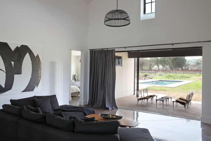 living room modern sonoma opens onto backyard 1