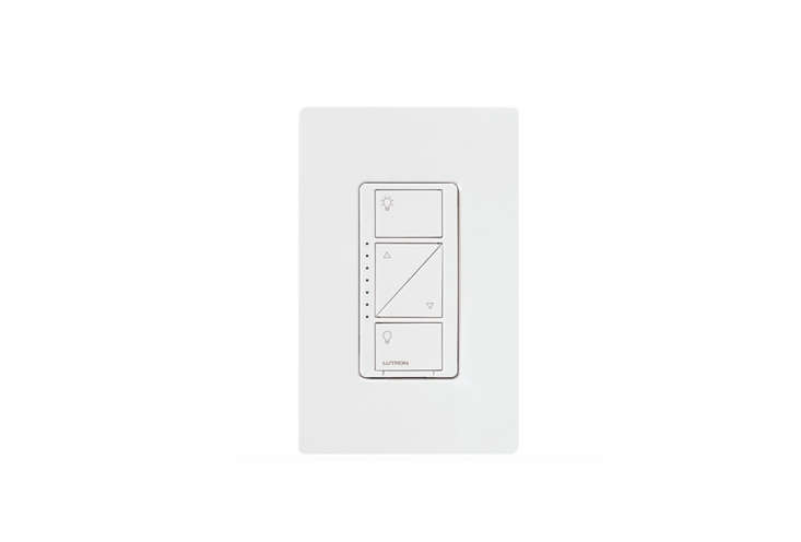 To use the Lutron Caséta Wireless In-Wall Smart Dimmer Kit (from $59. via Amazon), you'll need to add either the Caséta Wireless Smart Bridge, which lets you integrate the switch with Apple's HomeKit (so you can ask Siri to dim the lights), or the Wink hub; either way you can connect your switch to Alexa. For more information, visit Caséta Wireless.
