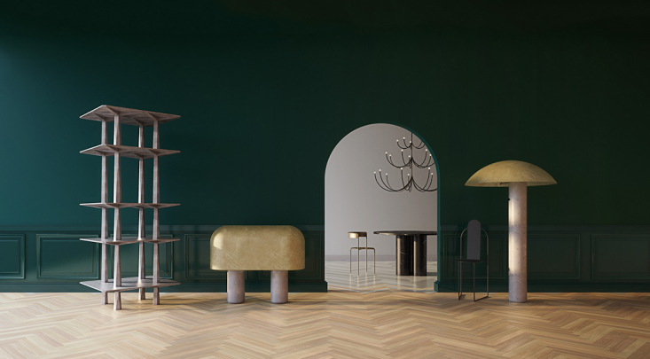 Current Obsessions Euro Drama Of the abundance of noteworthy designs and talent at the Salone del Mobile in Milan, Margot is notingBrooklyn basedMatter Made&#8\2\16;s unveilings of new collections by Faye Toogood, Oeuffice, and Pedro Paulo.