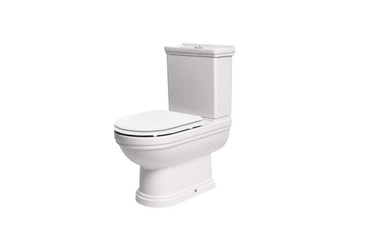 the aristo traditional toilet with white seat from uk company mere is £463.\20 19