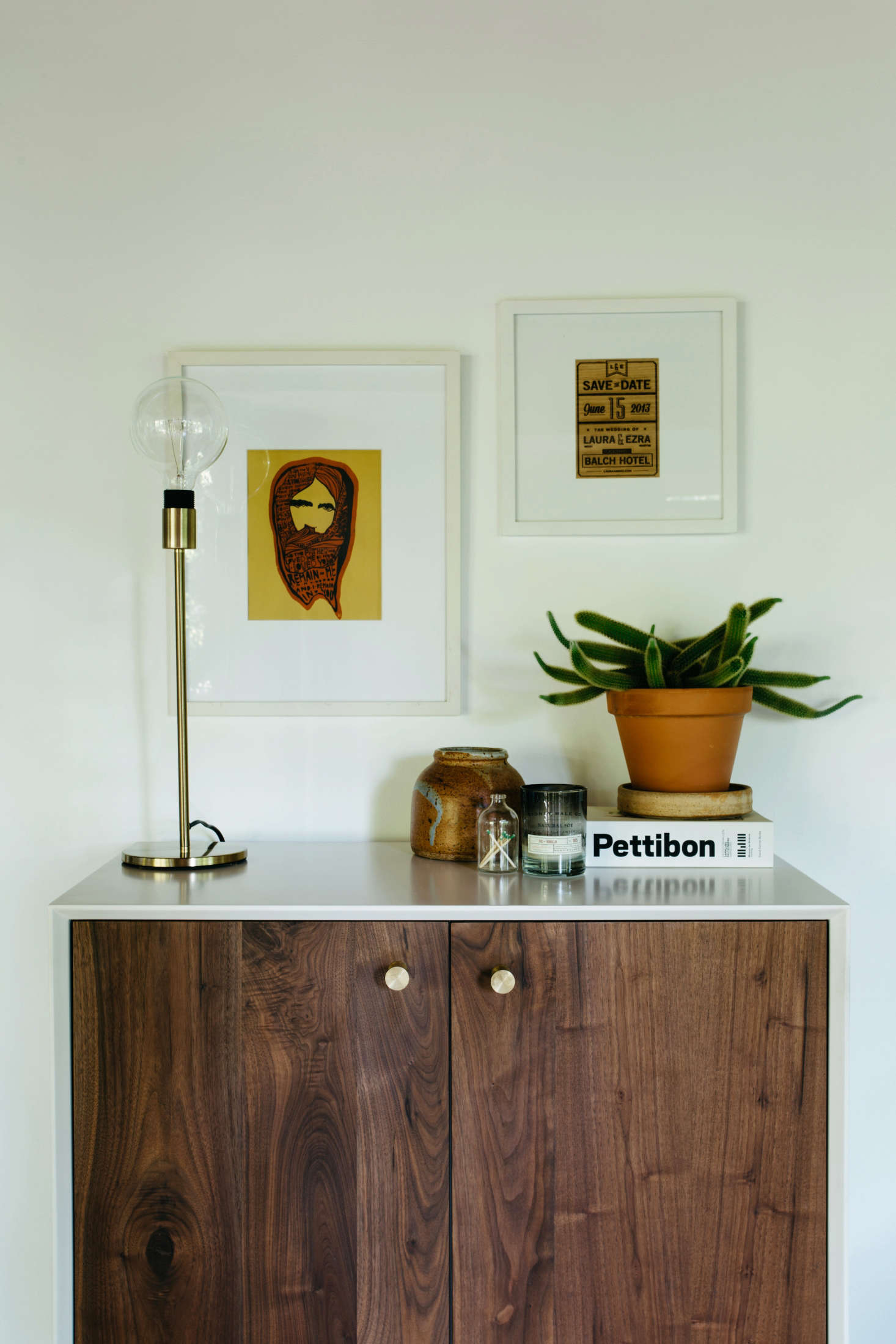 ACincinnati A Cabinet from Organic Modernism holds records.