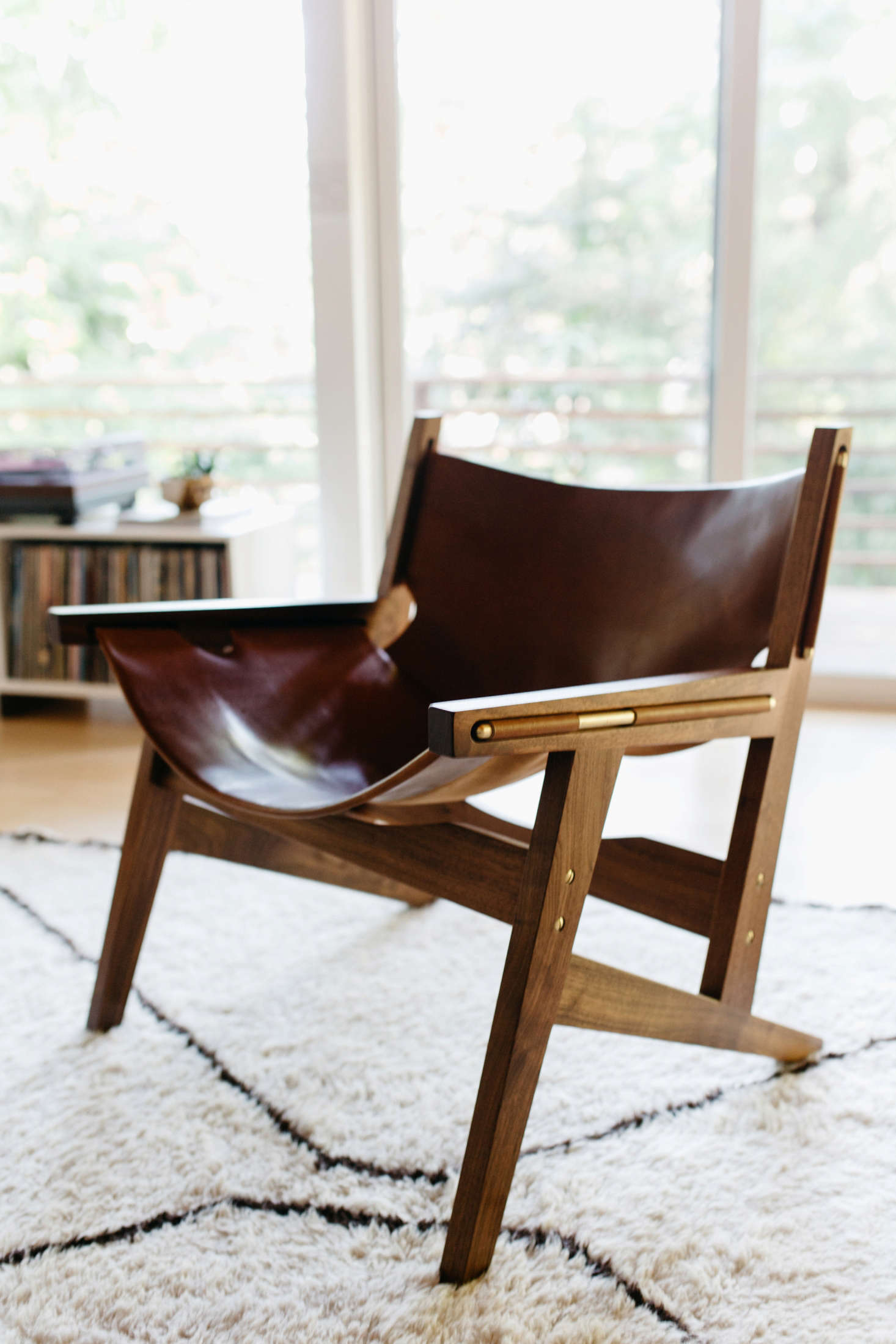 APeninsula Chair by Portland furniture company Phloem Studio.