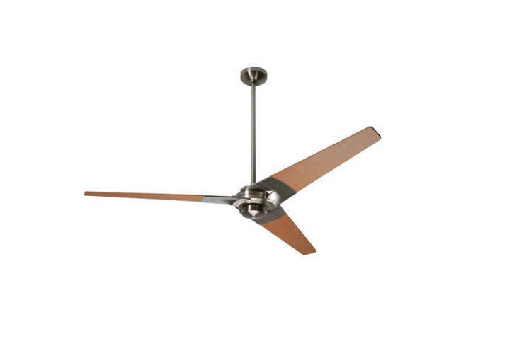 TheTorsion Ceiling Fan from theModern Fan Companystarts at $364 at YLighting. For more, see our post  Easy Pieces: Ceiling Fans.