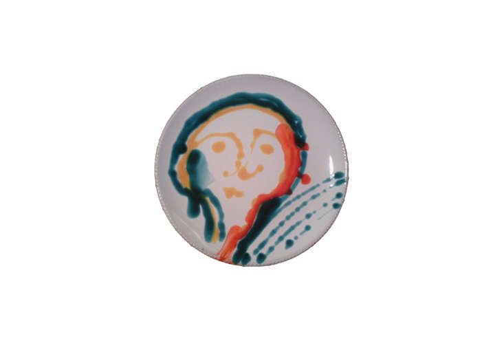 a hand painted ceramic plate from brothers antonio and nicola fasano of fasano  15
