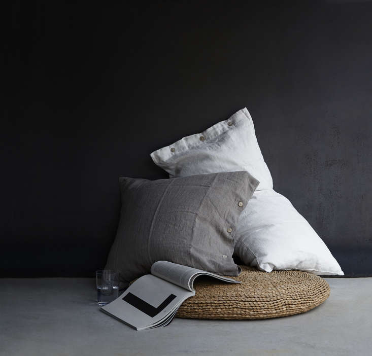 Treat your pillow to the perfect case. We love Rough Linen&#8