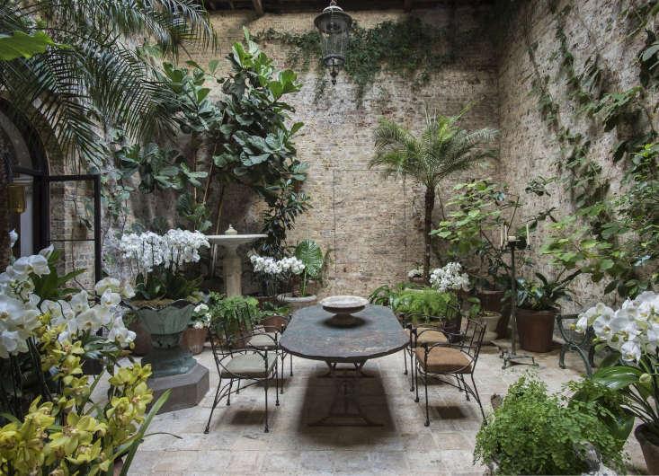 step inside london designer roseuniacke&#8\2\17;s lush brick walled conse 9