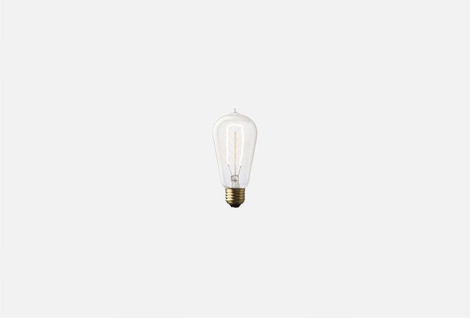 The Edison Single Loop Bulb is $ at Schoolhouse Electric.