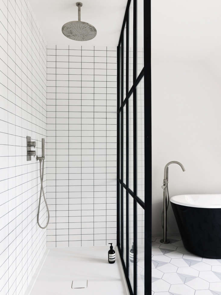 Matte white non-beveled subway tiles, 0 by 75 millimeters (5.9 by