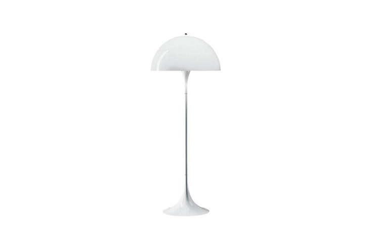 The Louis Poulsen–designed Verner Panton Panthella Floor Lamp is $996 at YLighting.