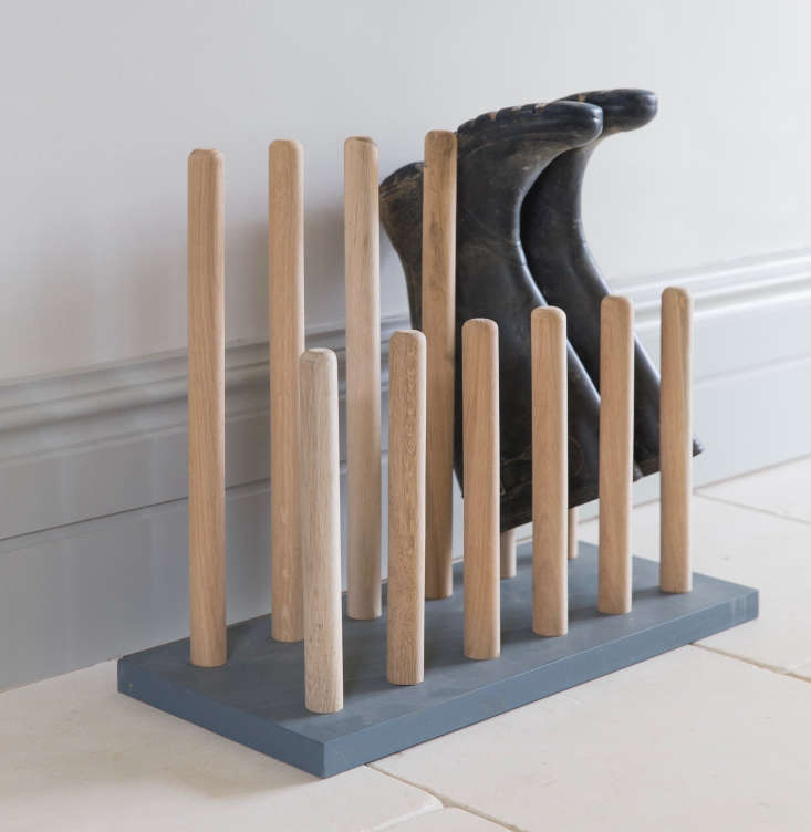 Just in time for mud season: our most trusted wooden racks for drying our Wellies in Easy Pieces: Rubber Boot Racks.