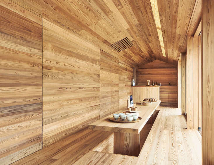 now available for rent: the yoshino cedar house, acollaborative project betwe 11