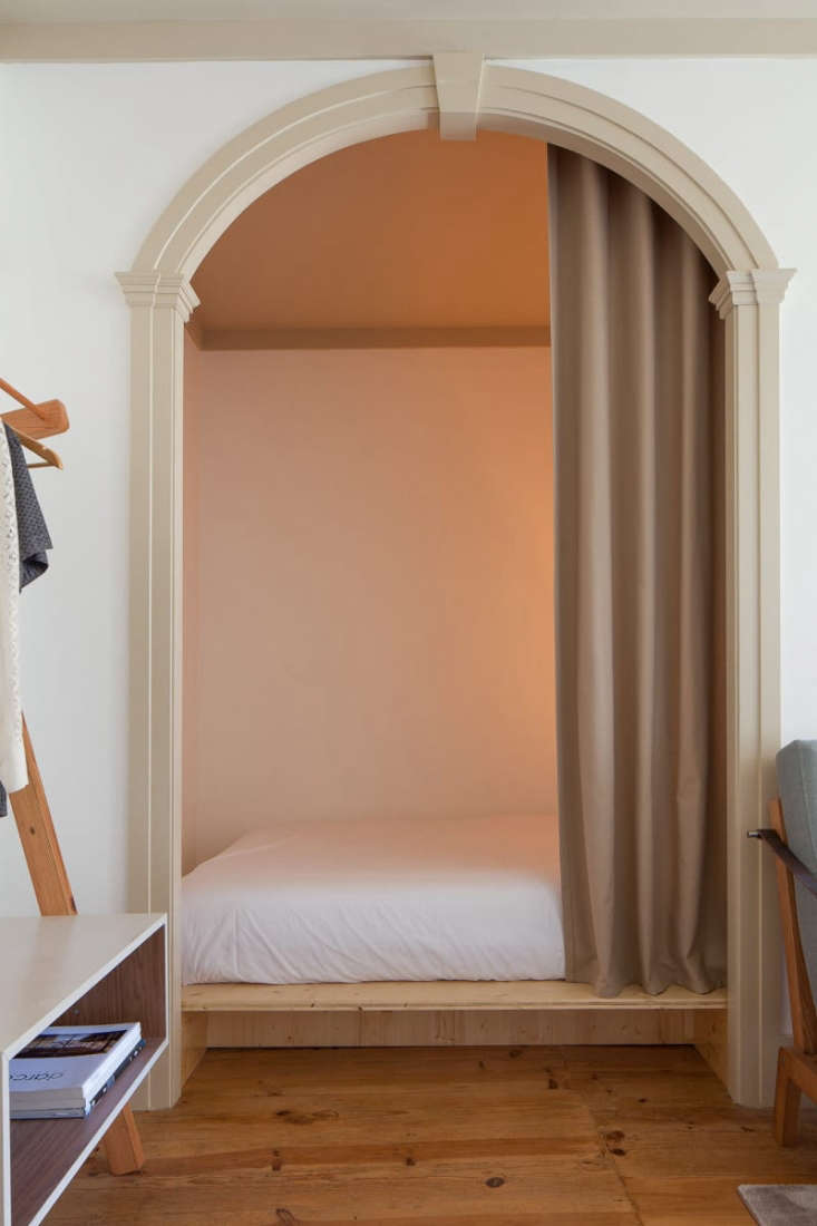 bedroom nook niche in portugal guest house