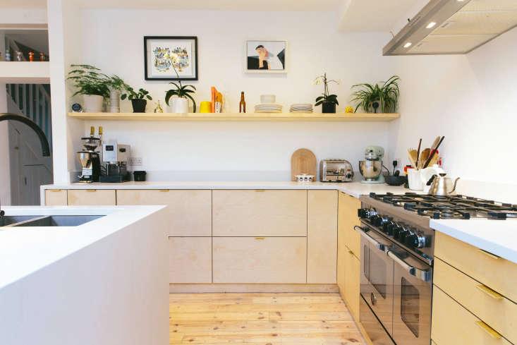 birch plykea kitchen