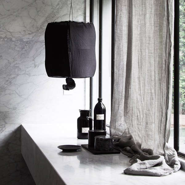 In Norway, the small Koushi Lamp in Black is available at Ølen Møbel for 3,990 kr ($630). Photograph courtesy of Ølen Møbel.