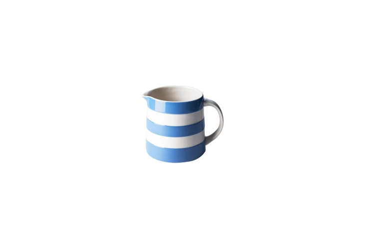 the 30 ounce cornish dreadnought jug in blueis £\26 at t.g. green & co.  16