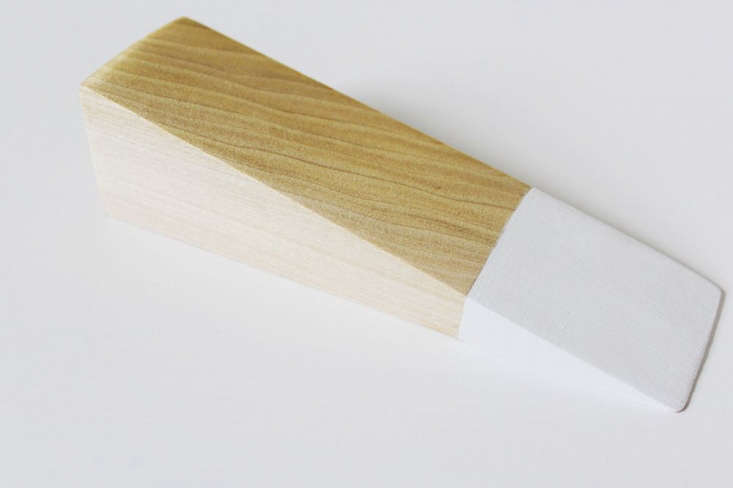 step \2:sand the wood, then mark (and tape off, if you like) the front sectio 12