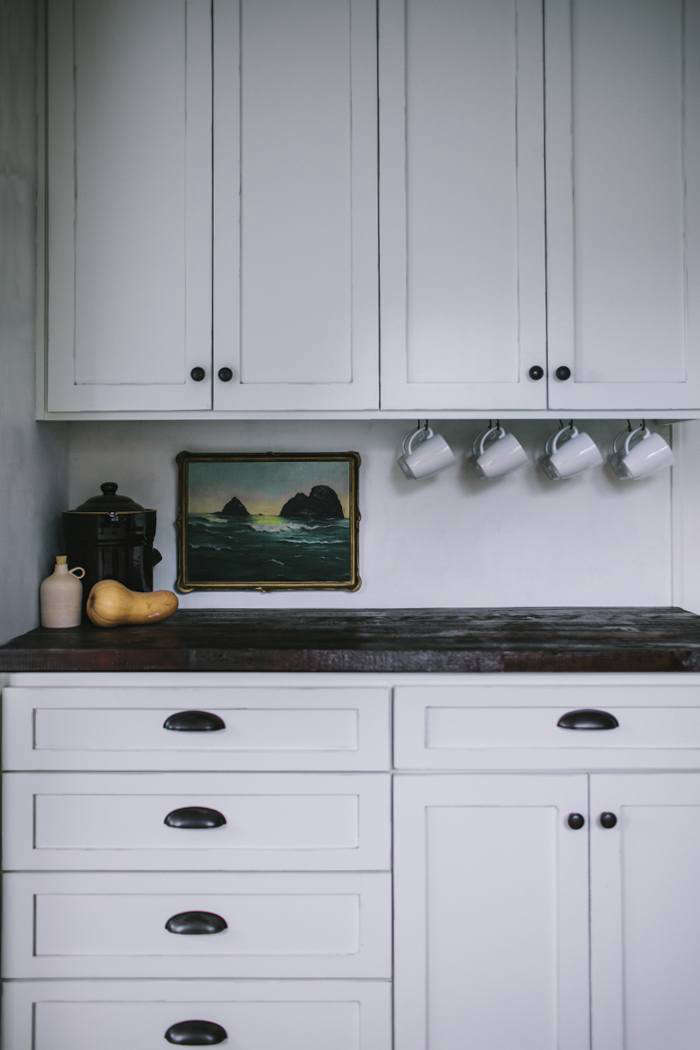 Leave enough space between the countertop and wall cabinets to work, but not so much that you can&#8