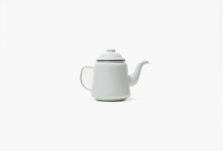the falcon enamelware teapot in white is \$\29 at need supply. 21