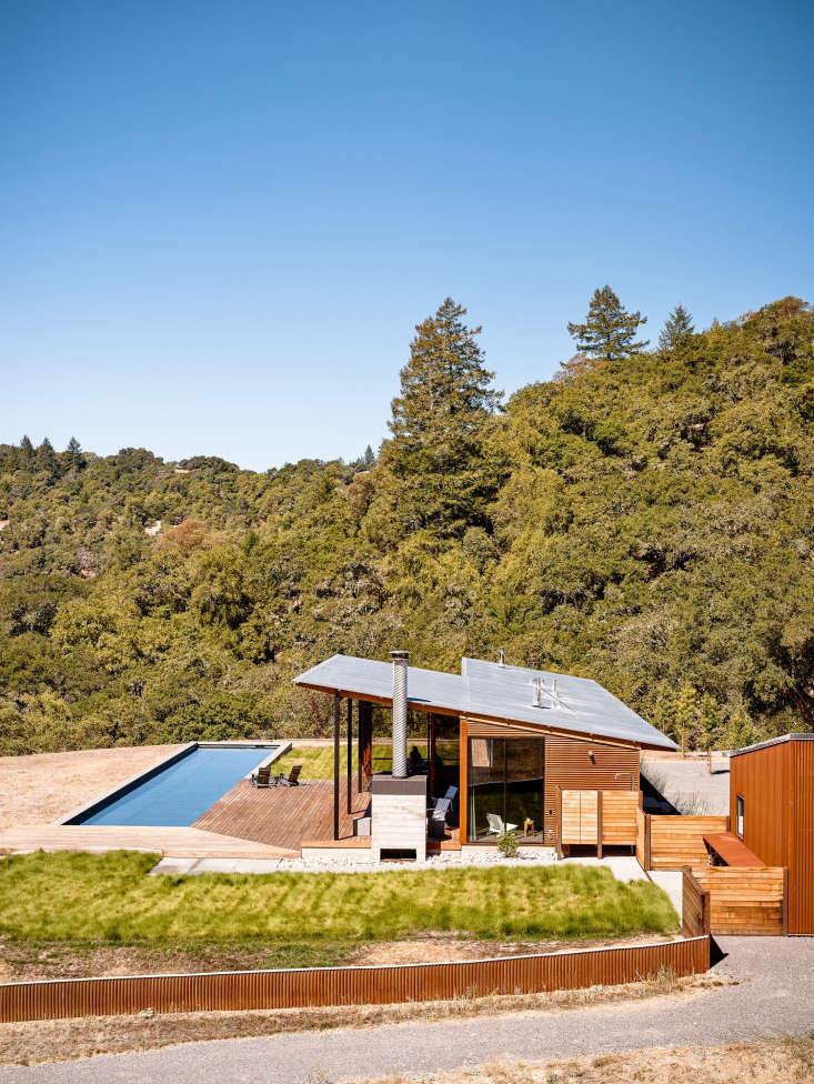 family camp estate california wood gravel