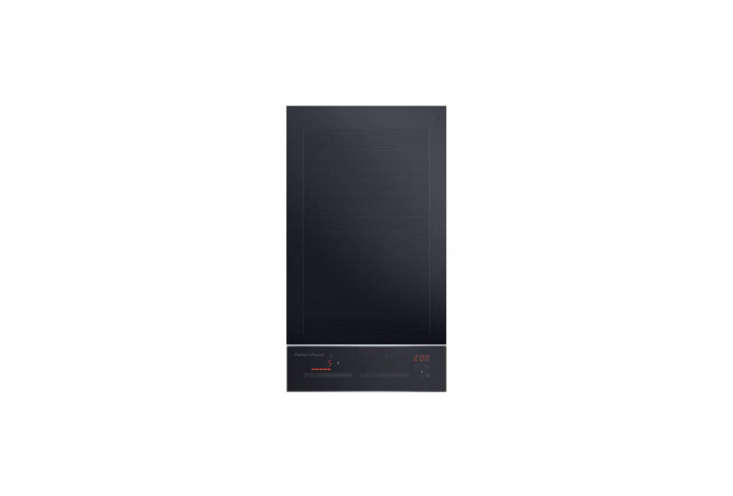 the fisher & paykel \1\2 inch electric induction cooktop is laptop size; \$ 14