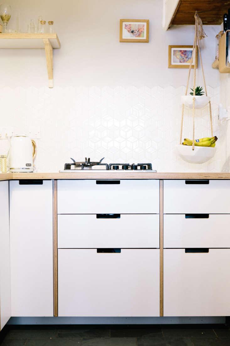 formica plykea cabinets