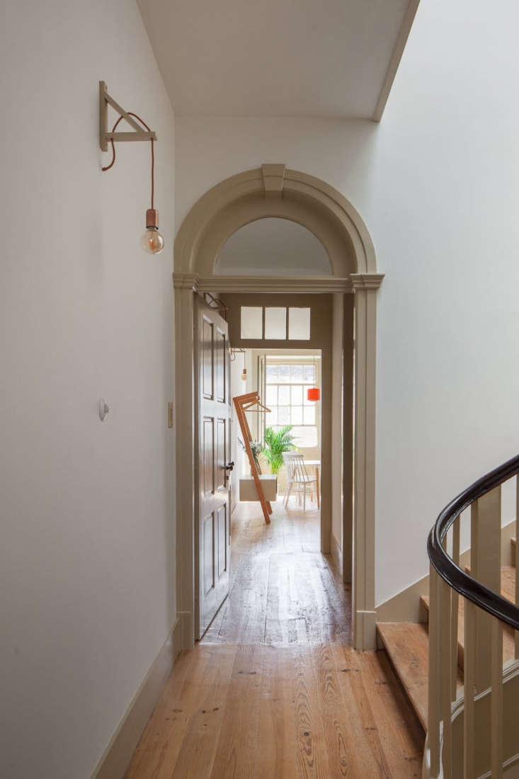 hallway wood floors guest house portgual