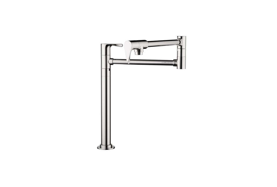 The Hansgrohe Axor Citterio Pull-Out Spray Kitchen Faucet is a unique model from Antonio Citterio for $loading=