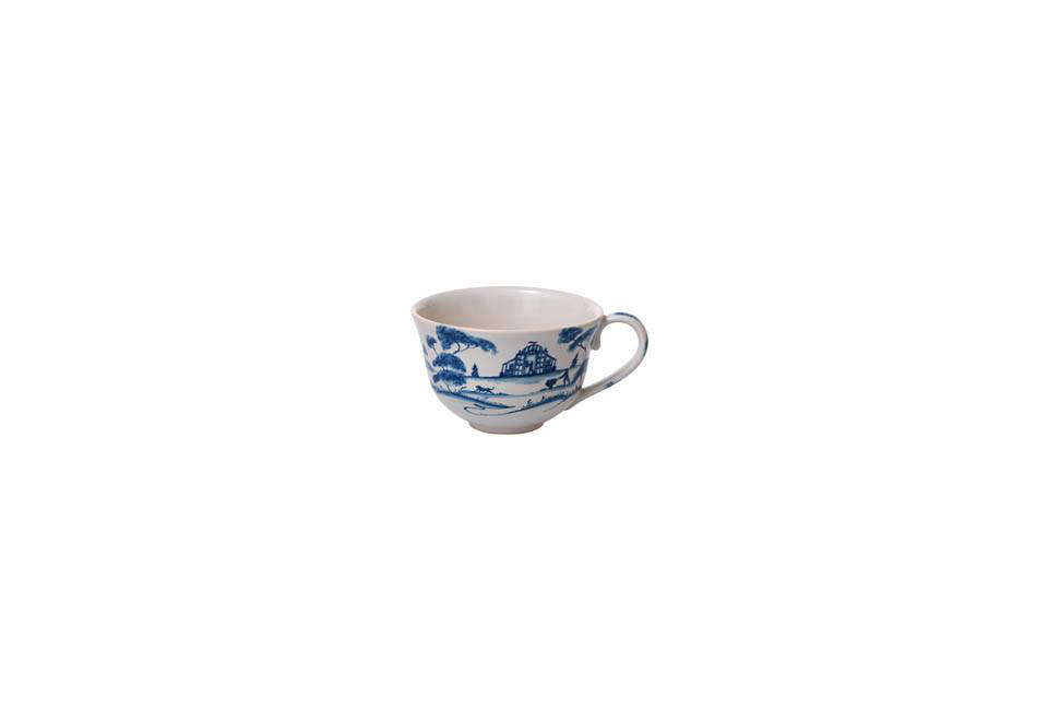 The Juliska Country Estate Delft Blue Teacup is $38 at Neiman Marcus. You can also find plenty of Delft teacups via a search on Etsy.