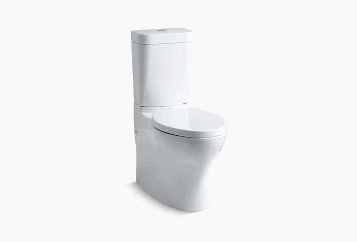 the kohler persuade circ comfort height skirted two piece elongated toilet is \ 17