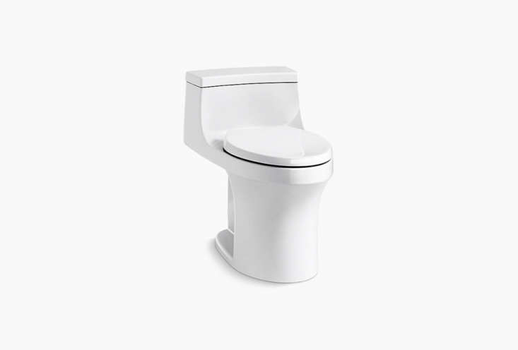 thesan souci one piece compact toilet is \$78\1.55 at kohler. 11