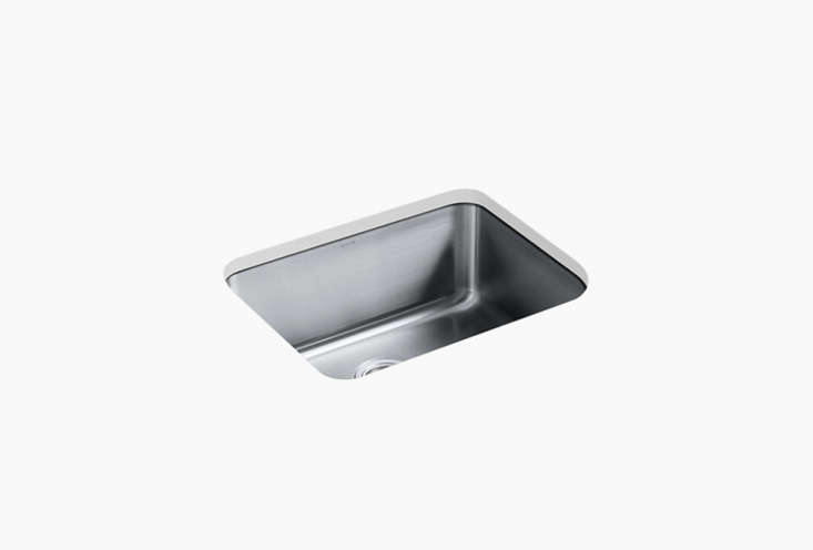 the kohler undertone preserve medium under mount single bowl kitchen sink is \$ 18