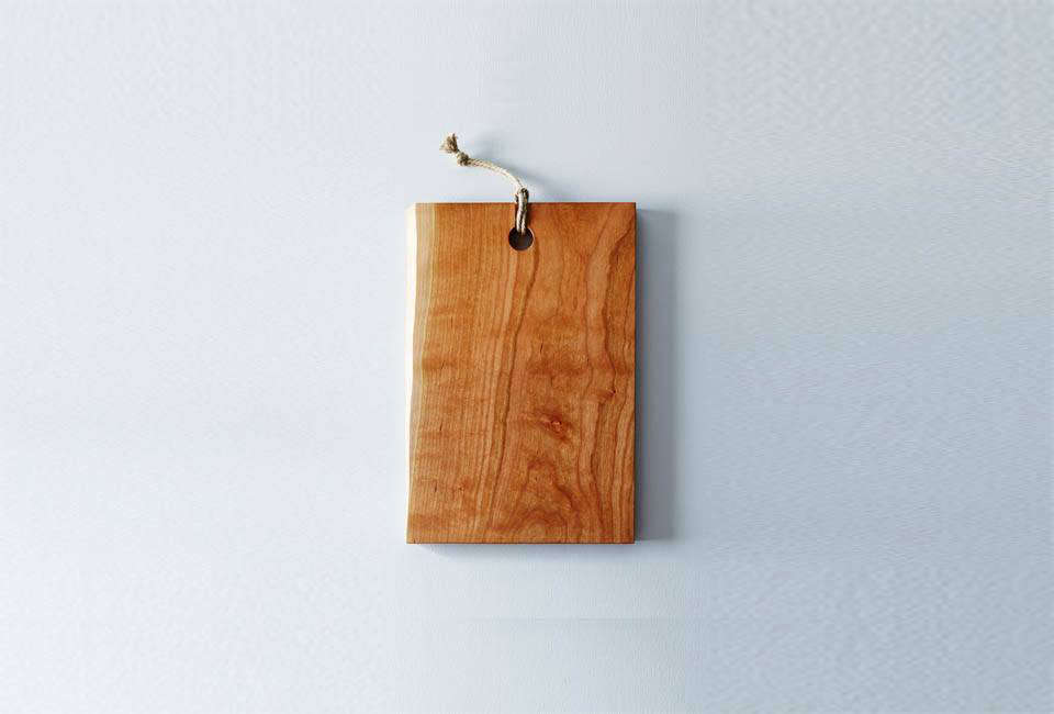 The Live Edge Domestic Wood Serving & Cutting Board is $5 at Food5
